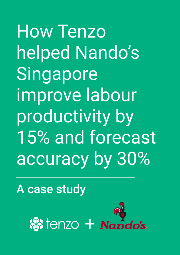 How Tenzo helped Nando's Singapore improve labour productivity by 15% and forecast accuracy by 30%