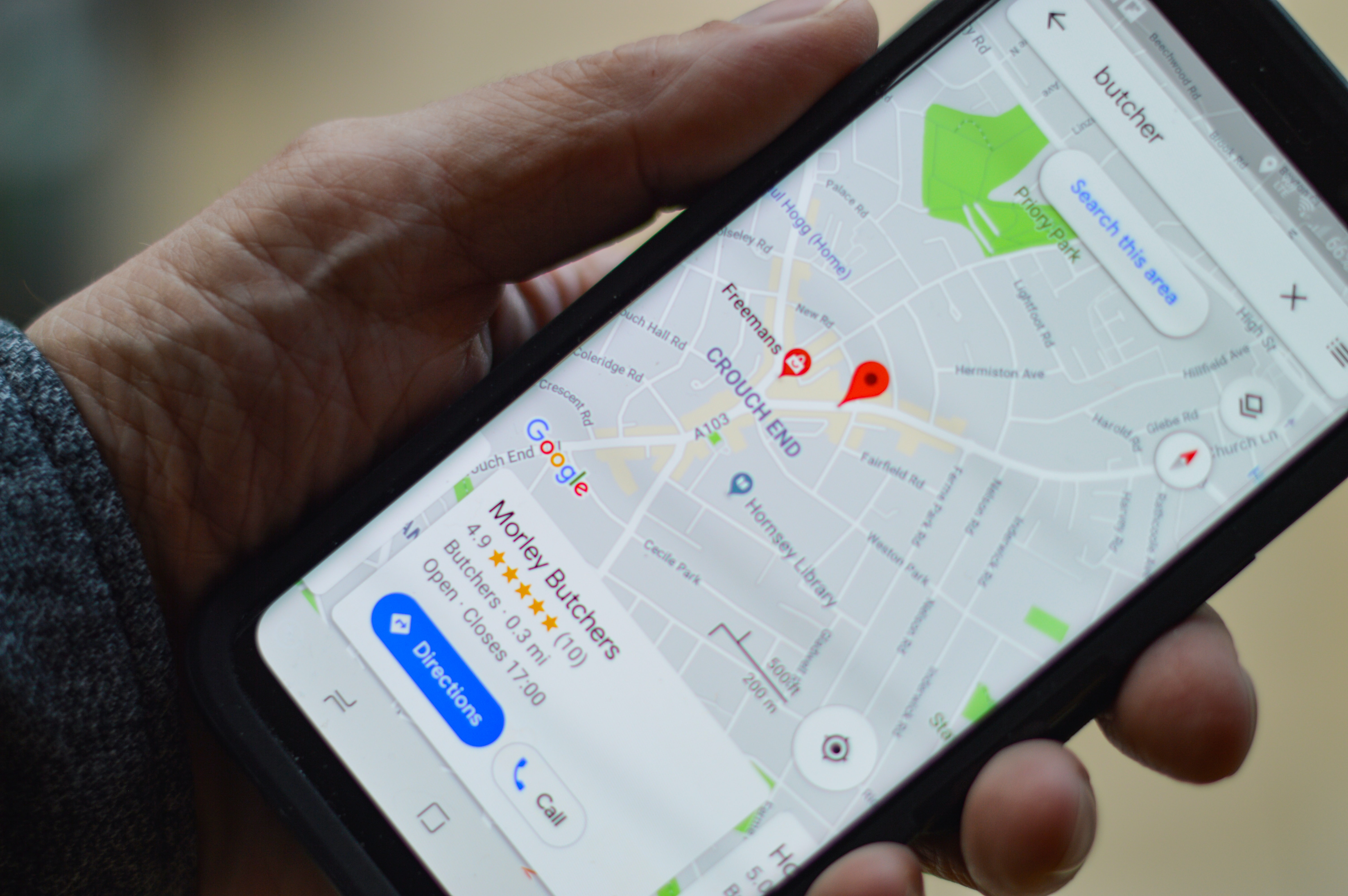 Google My Business reviews maps best way to get bookings